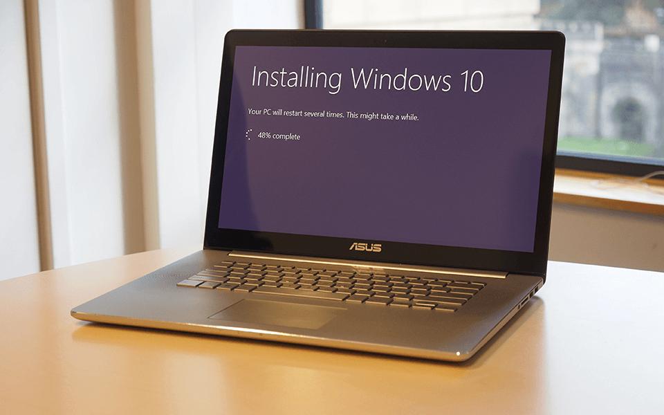 Встановлення та налаштування Windows